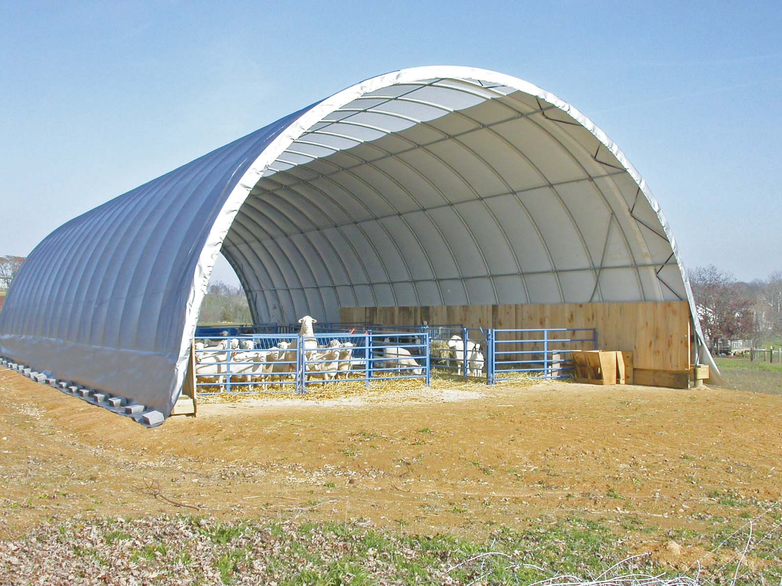 Fabric Buildings & Storage. As the leading manufacturer of hoop barns and fabric structures, we'll keep you covered. Whether you need hay storage, livestock housing or equipment storage, we will manufacture a fabric building to suit your needs.