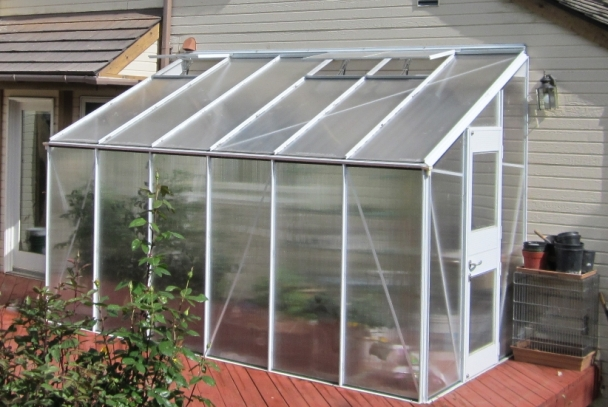 Elite Home-Attached Greenhouse