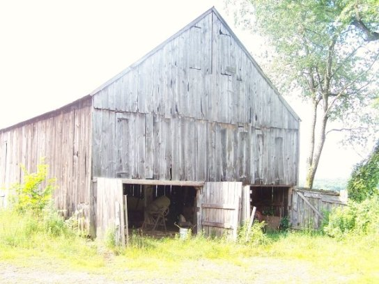 Old tobacco shed on Kathy's farm