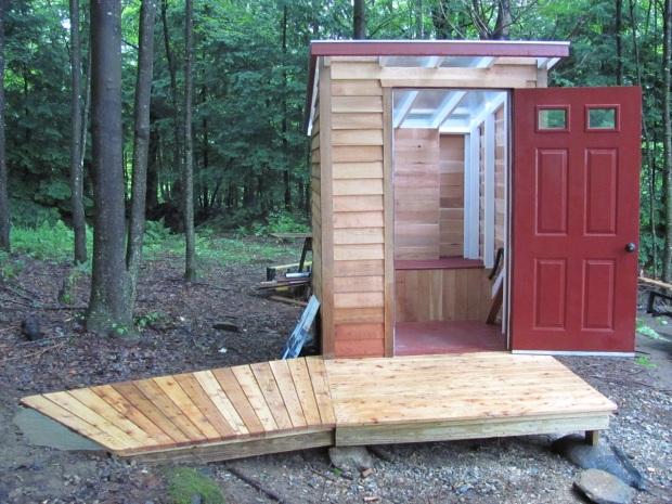 Composting Bathroom