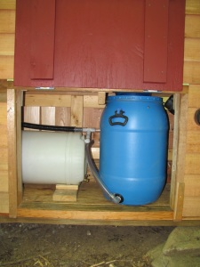 Composting System in Bathroom