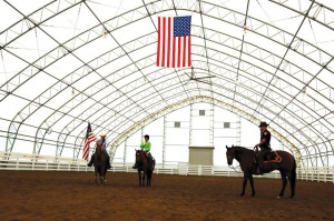 ClearSpan Riding Arena