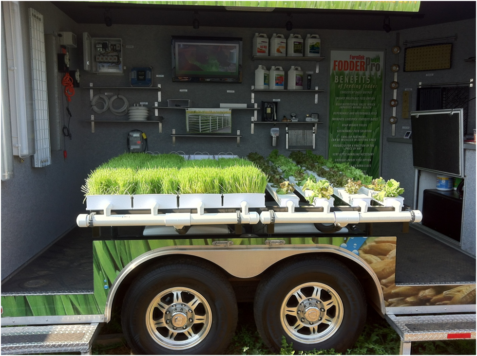 FarmTek Fodder Trailer