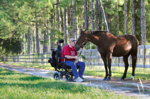 Wounded Warrior and Horse