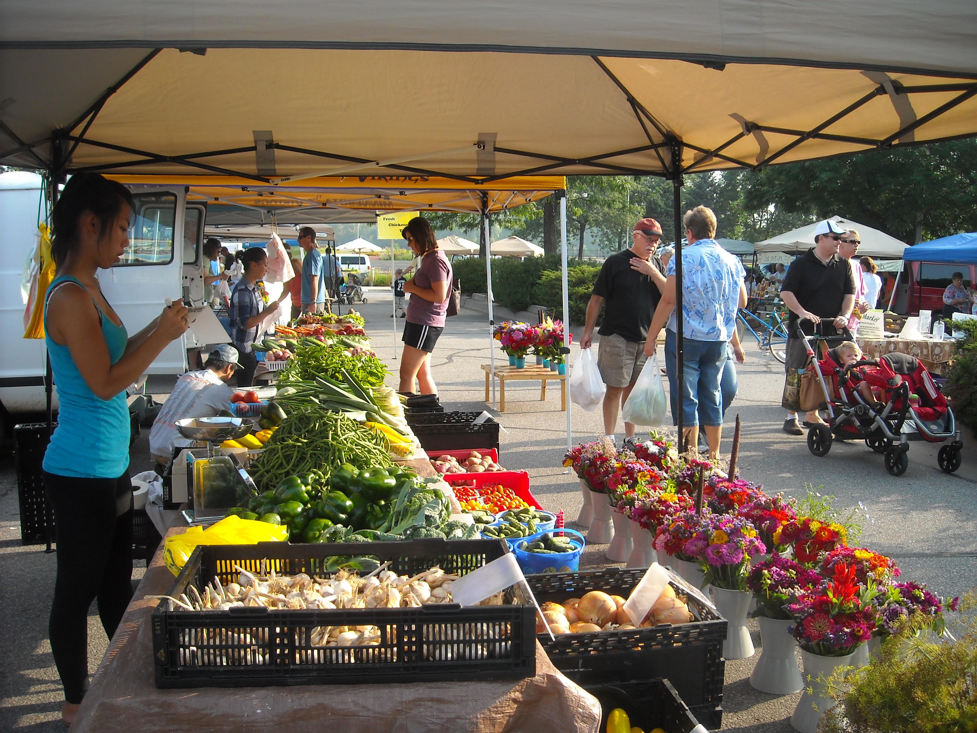 Market Stand Designs : Farmers market farmtek
