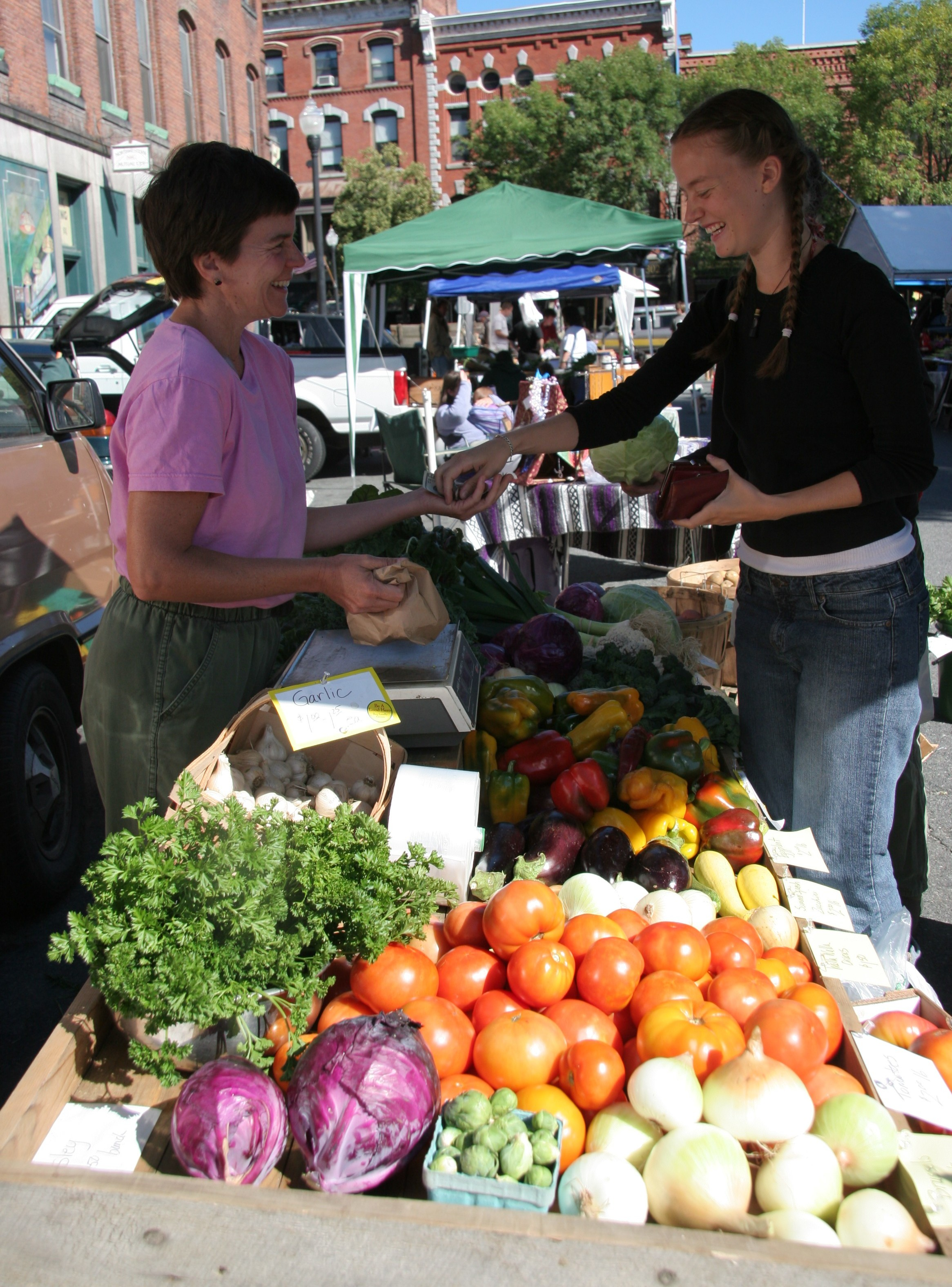 Successful Farmers Market Tips Part 3: Market Day