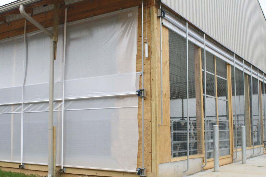 Naturally Manage Barn Temperature With Barn Curtain