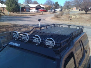 Roof rack front