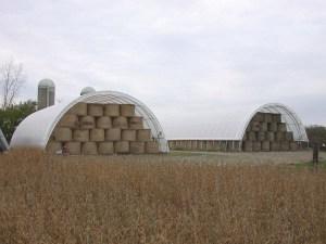 Hay barns