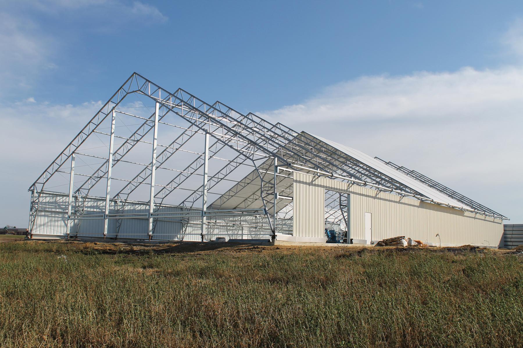 Farmtek affiliate clearspan fabric structures announces for Clear span garages