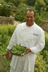 Chef on the farm
