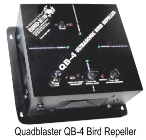 Quadblaster QB-4 Bird Repeller